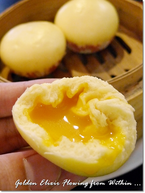 Golden Salted Egg Yolk Flowing