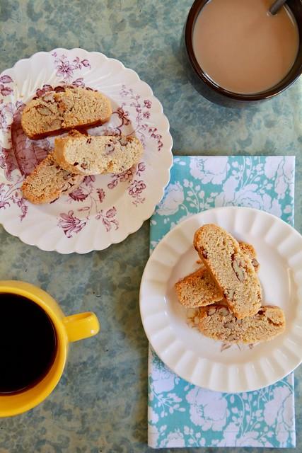 Peanut Butter Pecan Biscotti