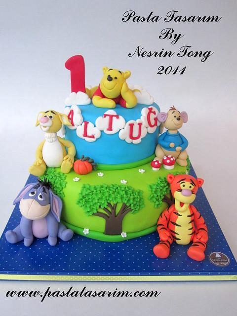 WINNIE THE POOH CAKE - ALTUG 1ST BIRTHDAY