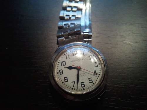 VINTAGE 1969 M9 BULOVA ACCUTRON 214 RAILROAD WATCH | Watches For Sale
