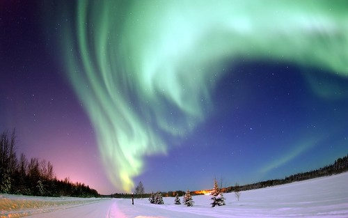 Aurora por Joshua Strang