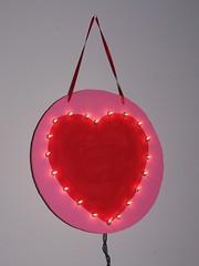 Lighted Heart Wall Decor