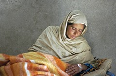 Injured in Pakistan Earthquake