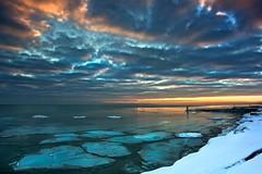 Openlands Lightshow (jrobfoto.com) Tags: winter sunset snow ice landscape day fort shoreline lakemichigan sheridan openlands 5dmarkii pwwinter