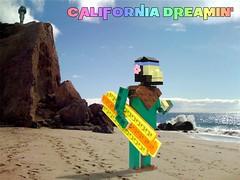 """""""California Dreamin"""" promo (Ochre Jelly) Tags: california lego malibu surfboard planet apes moc afol pchlug"""