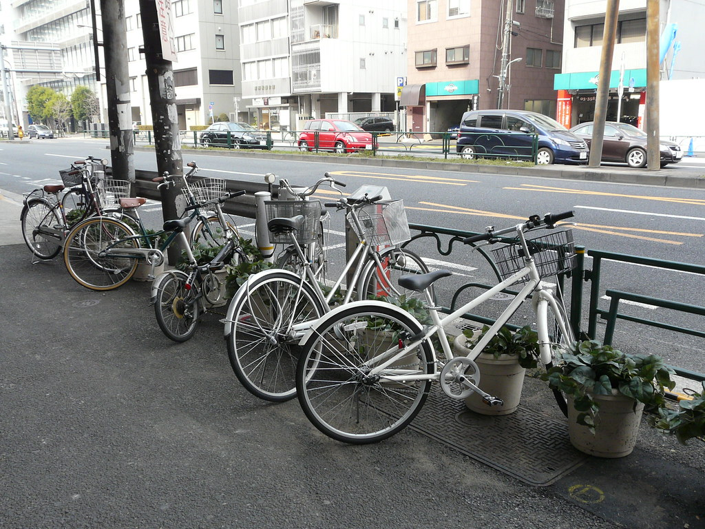 Pot Plant Bicycle Parking