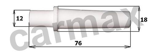 Dysza HSB wymiary fi 4,6mm