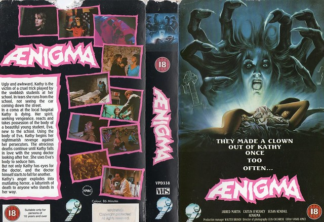 Aenigma (VHS Box Art)