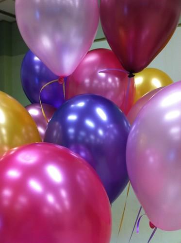 Heliumballonnen Personeelsvereniging NS Rotterdam