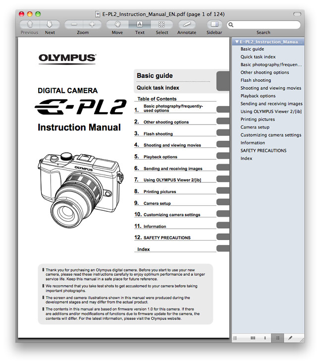 olympus e pl2 manual pdf now available for download rh dpnotes com Olympus PEN E- P1 Olympus PEN E- P3