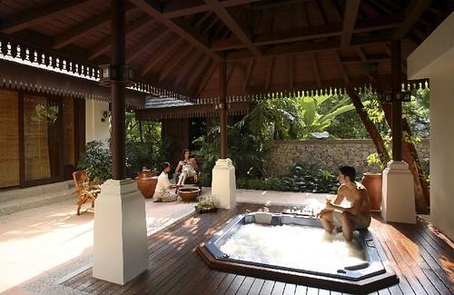 Couple spa at Pangkor Laut Resort