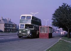 Cunningham 51 HCS998 Cockels Loan (Guy Arab UF) Tags: bus buses cunningham 51 1956 titan paisley leyland independents lowbridge renfew northerncounties pd220 hcs998