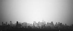 gotham (nosha) Tags: new york city nyc urban bw usa ny newyork beautiful beauty architecture buildings nikon cityscape bn february desolate 2010 lightroom d300 105mmf28 nikond200 nosha nikoncorporation 1160secatf28