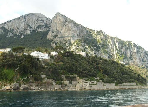 cliff highway, beach ruins