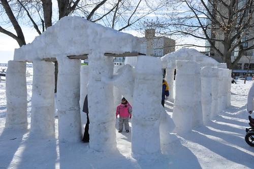 Snow Acropolis