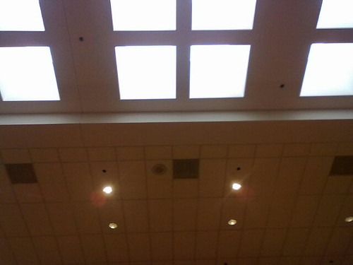Skylights in Russell Union