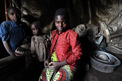 The Crisis in North Kivu Continues (UNHCR) Tags: africa family camp portrait baby women child mother greatlakes violence conflict shelter unhcr drc insecurity displacement idps drcongo democraticrepublicofthecongo internallydisplacedpeople northkivu displacedpeople unrefugeeagency masisidistrict