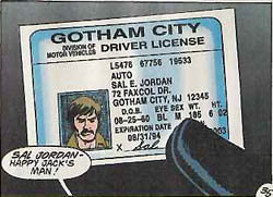 Gotham City NJ Drivers License
