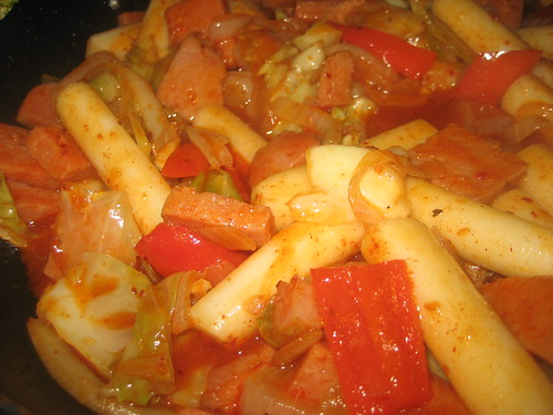 Simply made, but delicious -- ddeokbokki