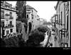Granada. Paseo en la Carrera del Darro. (Ricardo I.V.) Tags: bw españa blancoynegro luz calle andalucía flickr bn paseo granada vistas virado paseodelostristes 1785isusm canoneos1000d cdgexplorer