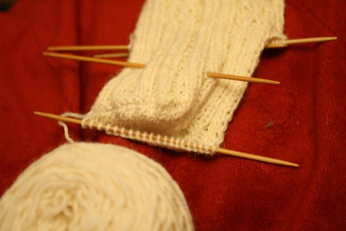 Brigit sock in progress
