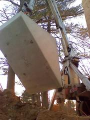 Precast bulkhead