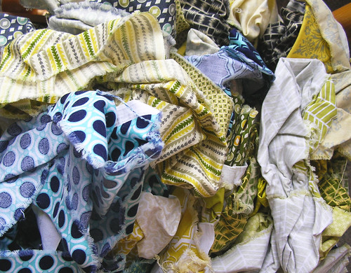 Prewashed all the Single Girl Fabric