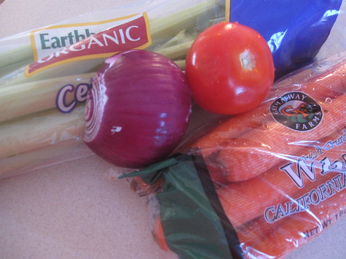 Extra fresh veggies