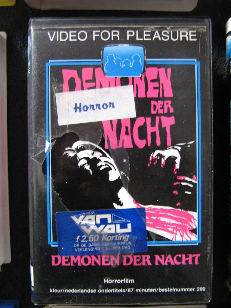 Demonen Der Nacht (VHS Box Art)