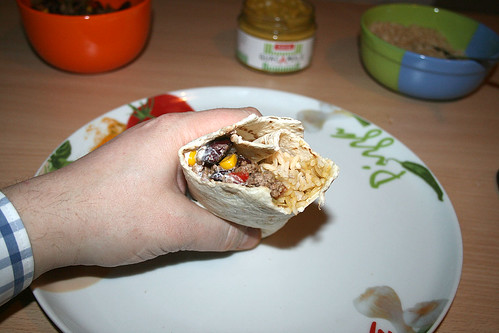33 - Gefüllter Burrito - Inhalt
