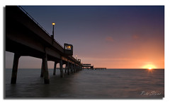 Deal Pier Sunrise .............. (pete stone) Tags: seascape sunrise pier kent deal englishchannel pictureperfect canoneos5d dealpier