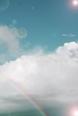 I still believe. (Cartiis) Tags: sky portugal arcoiris clouds lights rainbow cu dreams nuvens luzes wish sonhos desejos andreiacartaxo