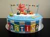 Fondant Cake Pocoyo Birthday Party 01 (Lola's Cake) Tags: birthday party cake pastel infantil cumpleaños tarta fondant lolascake pocoyo