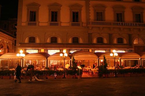 Restaurante Paszkowski em Florença Itália