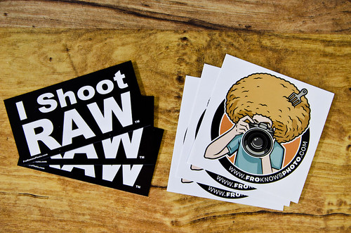FroKnowsPhoto I shoot RAW stickers