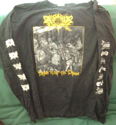 XASTHUR Telepathic with the Deceased longsleeve XL GildanXasthur Telepathic With The Deceased