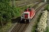 365 171  Tübingen  19.05.99 (w. + h. brutzer) Tags: analog train germany deutschland nikon eisenbahn railway zug trains db locomotive 261 361 tübingen lokomotive diesellok eisenbahnen dieselloks webru