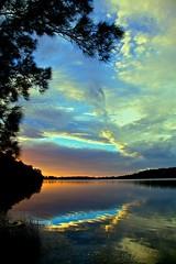 Enter here (James.Breeze) Tags: ocean sun lake seascape reflection beach water silhouette sunrise landscape seascapes cloudy sydney australia saltwater narrabeen northernbeaches ef24105mmf4lisusm bestofaustralia jamesbreeze