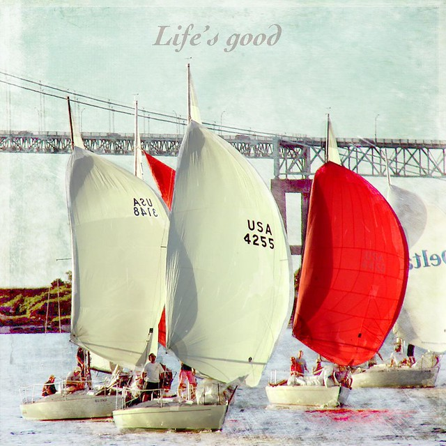 Life's good sailboats