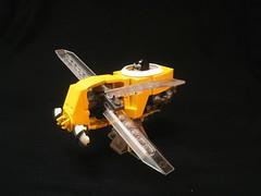 Vrooom... (legoalbert) Tags: lego gorilla steampunk ornithopter dieselpulp