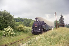 1997-06-14 Steam Locomotive Nr.524 1110 (beranekp) Tags: czech eisenbahn railway steam locomotive 1110 524 teplice dampf teplitz eleznice prosetice