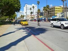 Ocean Avenue, Santa Monica 6 (bloodyeyeballs) Tags: california beach losangeles santamonica sunny socal february 2011 panasoniclumix runningpath