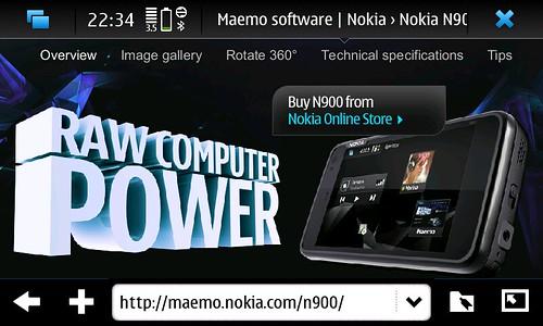 NOKIA N900@U300