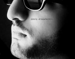 Me \     (Ali Hamad |  ) Tags: old black glass face canon eos d police ali arab saudi 500 zero hamad ksa  500d           theblackzero