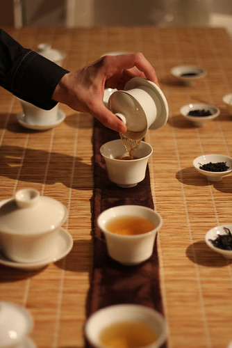 Tea tasting by nikosan.artwork
