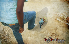 Day 53 (Ruby Ras) Tags: portrait photoshop self project giant big nikon days jamaica 365 clone day53 selfie d90 3652011