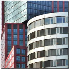Modern joints (Nespyxel) Tags: vienna wien windows lines architecture modern buildings austria angle curves curve osterreich architettura moderno joint stefano palazzi finestre geometrie linee angoli geometries incastro nespyxel stefanoscarselli