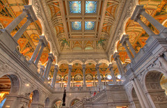 [免费图片] 建筑物, 博物馆・剧场, 図书馆, 美國, HDR, 201102271900