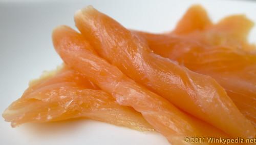 Heston Blumenthal's Lapsang Souchong tea smoked salmon
