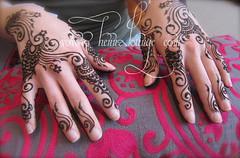 Gulf design from Shangar Part 2 (Deepika Chauhan) (HennaLounge) Tags: gulf henna mehndi khalijee
